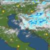 Ciklona Rina: Obilna kiša tijekom noći pala u Gorskom kotaru