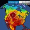 Rekordna jesenska toplina na sjeveru SAD-a i jugu Kanade: Vrućine nakon rekordno ranog snijega