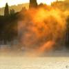 Sinjsko i požeško područje najhladnije u zemlji; pogledajte čaroliju svitanja u Starom Gradu (FOTO)