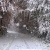 Prvi snježni pokrivač sezone Lici i Gorskom kotaru (FOTO)