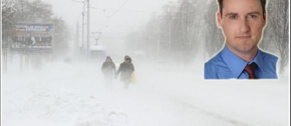Intervju s meteorologom Dominikom Jungom koji je prošloga tjedna najavio jaku zimu
