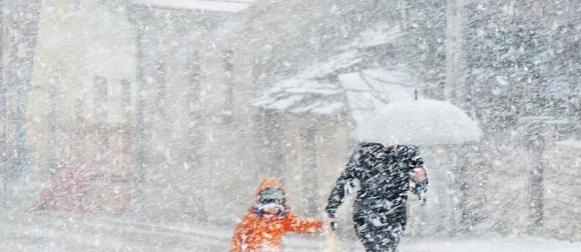 Zimski utorak: Snijeg zabijelio i  Šibenik