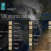 Britanski  i irski meteorolozi službeno imenuju ciklone ove jeseni i zime