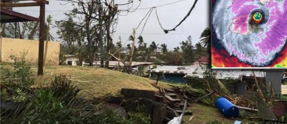 Fidži: Pet mrtvih u najsnažnijem uraganu u povijesti