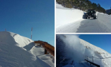 Pogledajte kako je izgledalo probijanje kroz višemetarske nanose snijega na biokovskoj cesti