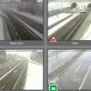 Povratak zime: Snijeg u Gorskom kotaru