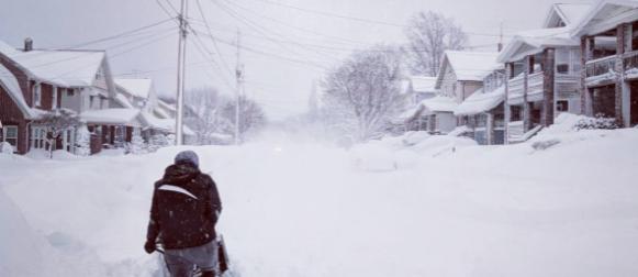 Rekordni snijeg zatrpao Erie (SAD)