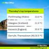 Rekordne vrućine u Velikoj Britaniji i Irskoj