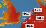 Dan temperaturnih rekorda u Francuskoj, Njemačkoj, Belgiji, Nizozemskoj i Velikoj Britaniji