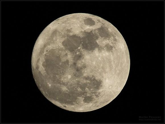 Pun Mjesec 15.01.2014. / Marko Posavec