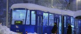 Zagrebački snijeg svjetska vijest