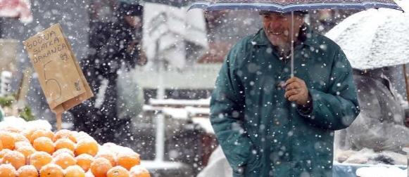 Hoćemo li bijeli Božić samo sanjati? Stiže sredozemna ciklona Glorija