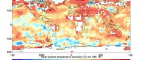 Privremeno godišnje izvješće Svjetske meteorološke organizacije (SMO) o statusu klime za 2013. godinu