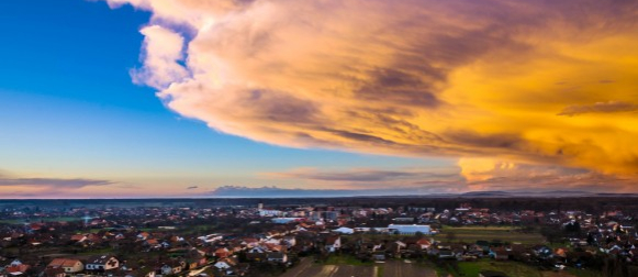 FOTO REPORTAŽA Dan olujnih oblaka u Slavoniji