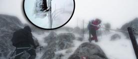Kako je planinare proteklog vikenda na Biokovu zarobila snježna oluja (FOTO, VIDEO)
