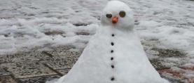 Nevrijeme s tučom i snijegom u Crnoj Gori (FOTO)
