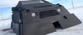 Blindirani automobil posebno je dizajniran za potjeru za tornadima