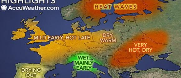 Accuweather sezonska prognoza za ljeto: U Hrvatskoj će ljeto biti kišno?