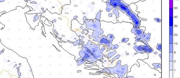 More dosegnulo 20 stupnjeva, u subotu u Slavoniji mogući obilniji pljuskovi