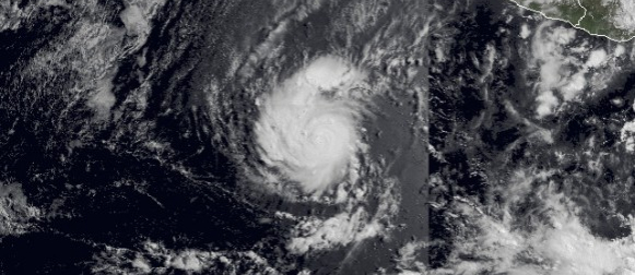Amanda: Prvi uragan sezone na istočnom Pacifiku