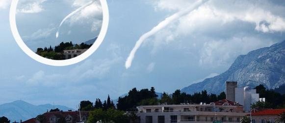 Pijavice na makarskoj rivijeri oštetili brodice i kafić: Stolice letjele 200 metara u zrak! (FOTO)