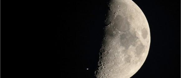 Snimljen prelet Međunarodne svemirske postaje preko Mjeseca!