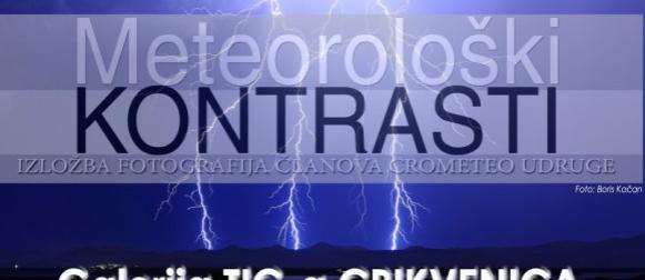 """U petak se u Crikvenici otvara Crometeo izložba fotografija """"Meteorološki kontrasti"""""""