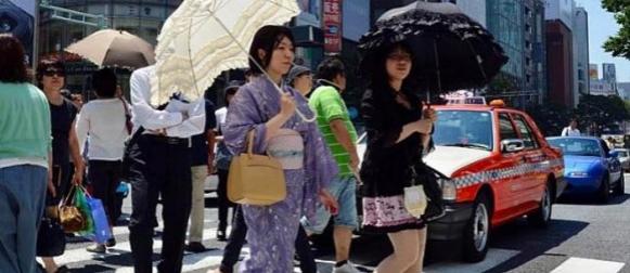 Rekordne vrućine  na sjeveru Japana i Meksika