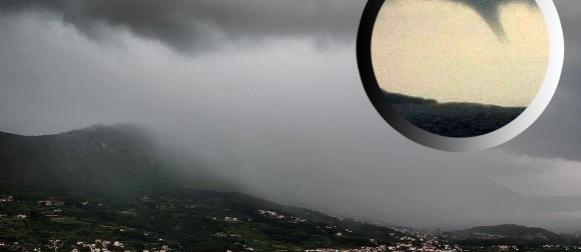 Narančasti stupanj upozorenja za Dalmaciju, pijavica pogodila Kupare (FOTO)