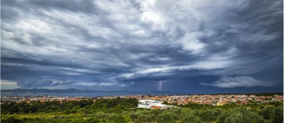 Ciklona Faust: Nestabilna subota, završio prvi ovogodišnji val vrućina