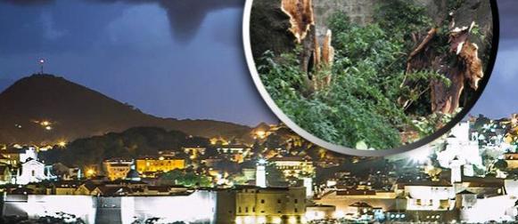 Noćni pohod desetak pijavica na Dubrovnik, pogledajte nastalu štetu! (FOTO)