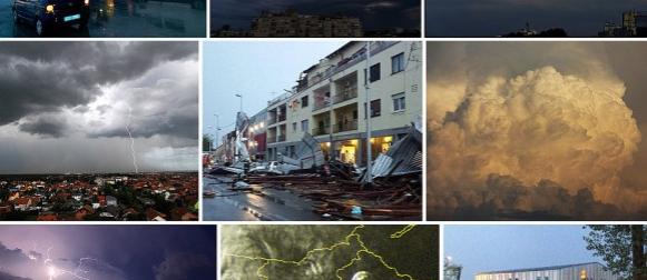 Stigla ciklona Iskra: Veliko nevrijeme pogodilo Veliku Goricu i Pleso (FOTO)