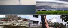 Pijavice i poplave pogodili Italiju, tuča Sloveniju (FOTO)
