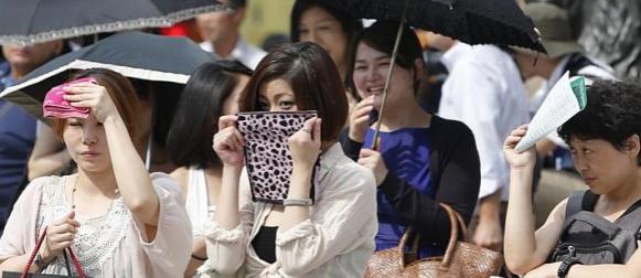 Val vrućine u Japanu odnio osam života, skoro 2000 ljudi završilo u bolnici