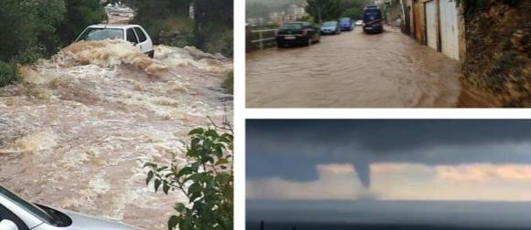Ciklona Melisa sjevernom Jadranu donijela obilne oborine: Na Silbi palo 113 mm kiše! (FOTO, VIDEO)