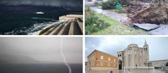 Ciklona Melisa u brojkama: Burna srijeda