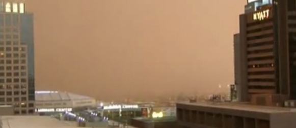 Pogledajte kako se Phoenix našao na udaru pješčane oluje (VIDEO)