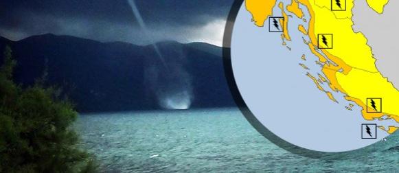 Stiže ciklona Klara: MeteoAlarm upozorio na obilne grmljavinske pljuskove i pijavice!
