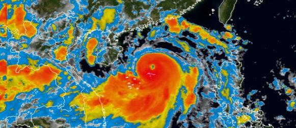 Tajfun Rammasun naglo jača na putu prema jugu Kine