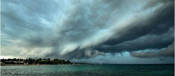 DUZS:  Izvještaj o olujnom nevremenu u srijedu