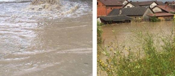 Palo 88 litara u sat vremena: Velike poplave na karlovačkom području, poplavila Petrinja (FOTO, VIDEO)