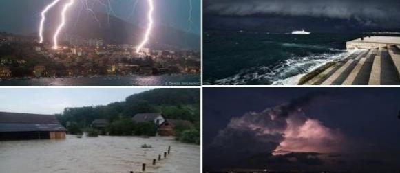 Ljeto 2014:  Ekstremne kišne epizode