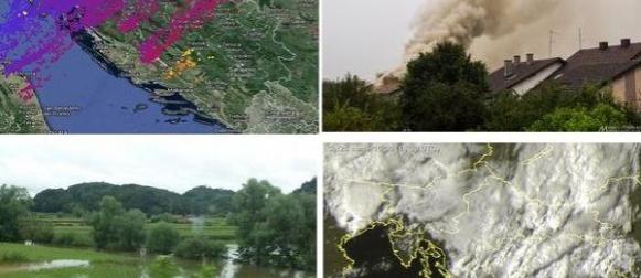 Ciklona Nestor: Obilna kiša, poplave u  Zagorju, zahlađenje..