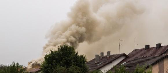 Koprivnica: Grom zapalio kuću