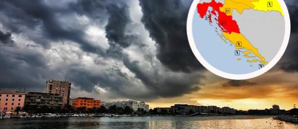 Stigla ciklona Talija: Obilne oborine i pad temperature zraka na zapadu zemlje (FOTO)