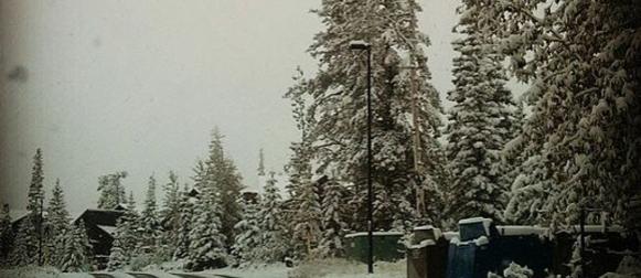 Rana zima: Snijeg na jugozapadu Kanade