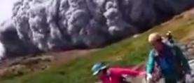 Pogledajte erupciju japanskog vulkana, osam ozlijeđenih