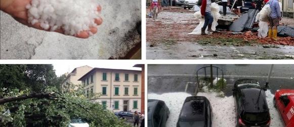Nevrijeme s tučom, olujnim vjetrom i pijavicama pogodilo Firencu (FOTO, VIDEO)