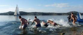 ŠIBENSKA RUJANSKA BANJADA: Zbog rijeke Krke hladnije more u kanalu