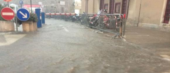 Novi oborinski val: Kišno nevrijeme u Šibeniku